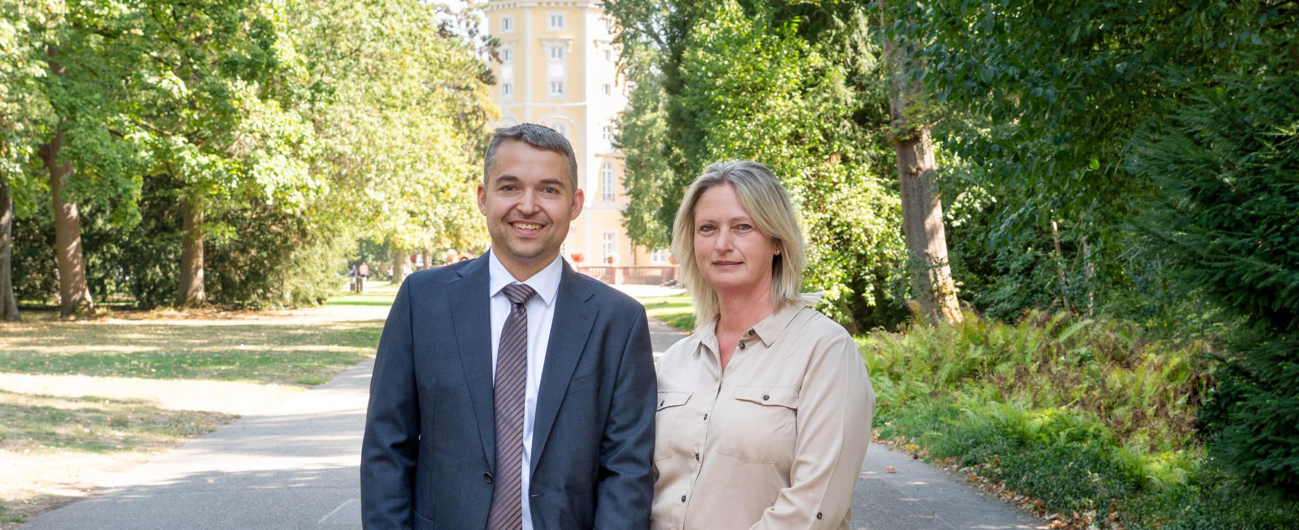 Rüdiger Werner und Sandra Süß